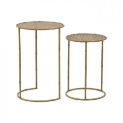 Τραπέζι αναμονής ζιγκόν Bamboo