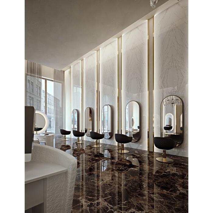 Καθρέφτης κομμωτηρίου Katherine Collar wall