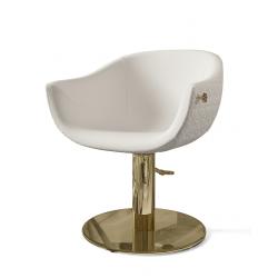 Πολυθρόνα κομμωτηρίου Queen Mary Blanc