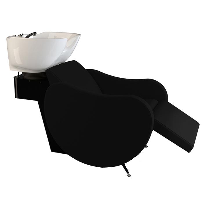 Λουτήρας κομμωτηρίου Mambowash air-shiatsu black