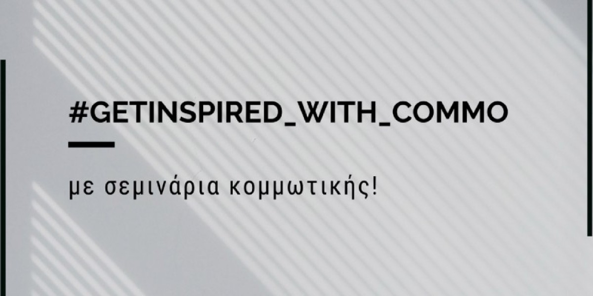 Get inspired with Commo, με σεμινάρια κομμωτικής!