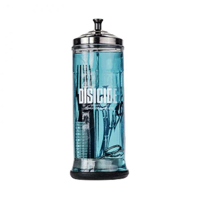 Γυάλινο βάζο απολύμανσης Disicide large