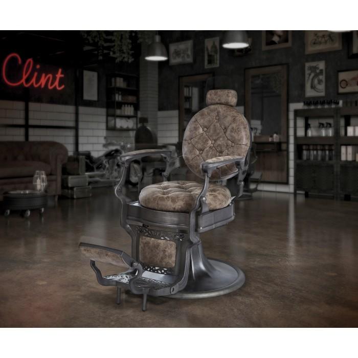 Πολυθρόνα Barber Clint brown