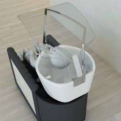Προστατευτικό Plexiglass λουτήρα