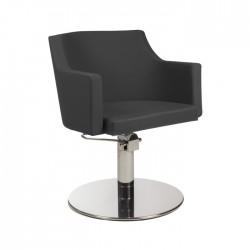 Πολυθρόνα κομμωτηρίου Birkin black roto