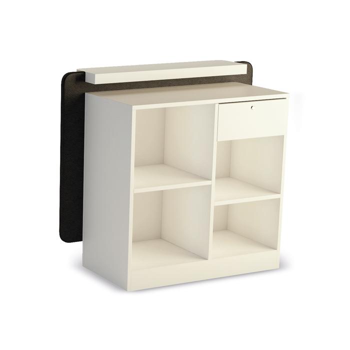 Ρεσεψιόν κομμωτηρίου Cpt Desk 90