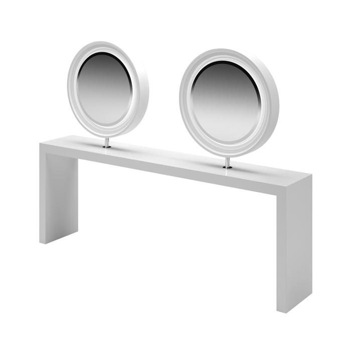 Καθρέφτης κομμωτηρίου Duobert Wall