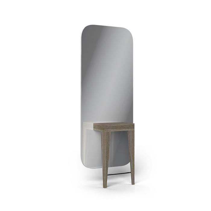 Καθρέφτης κομμωτηρίου Madison 1 wood