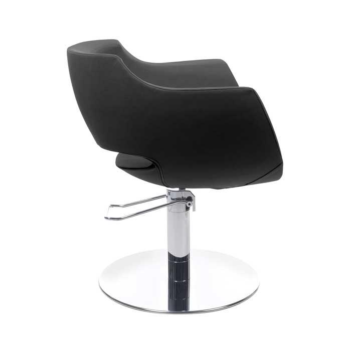 Πολυθρόνα κομμωτηρίου Clust black roto