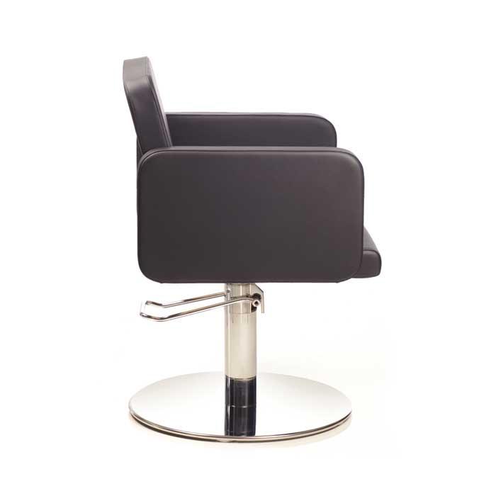 Πολυθρόνα κομμωτηρίου Olma black roto