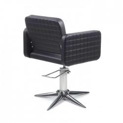 Πολυθρόνα κομμωτηρίου Olma cpt black parrot